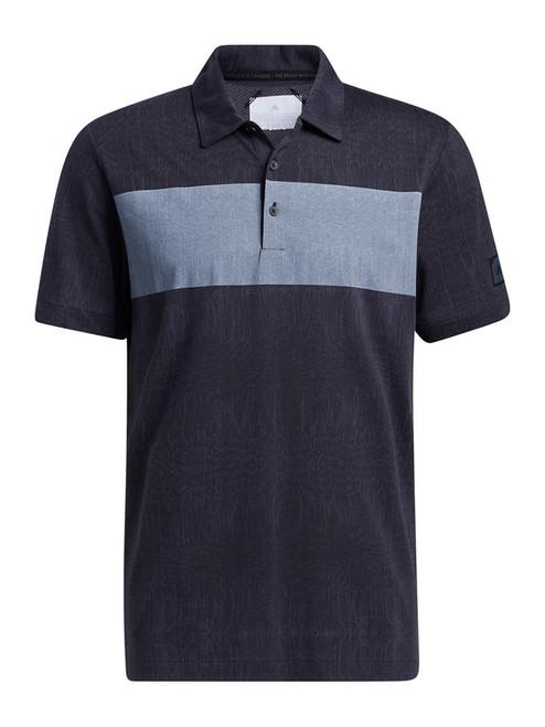 adidas Adicross Desert Print Polo Shirt - Night Grey