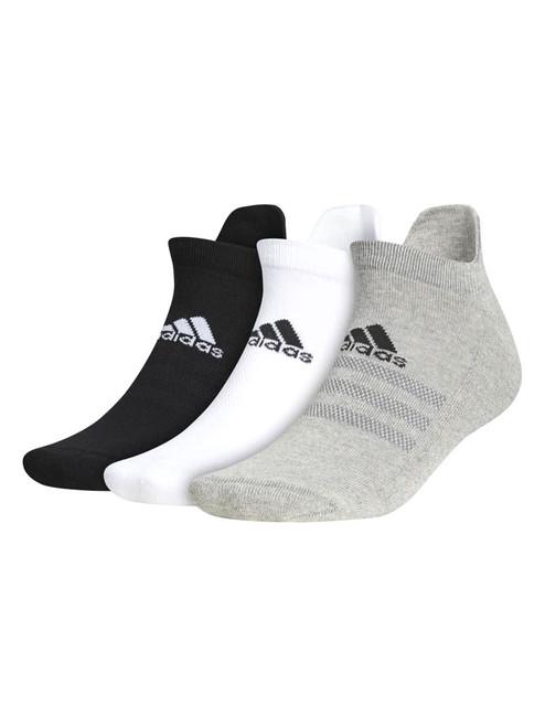 adidas Ankle Socks 3 Pairs - White/Grey/Black