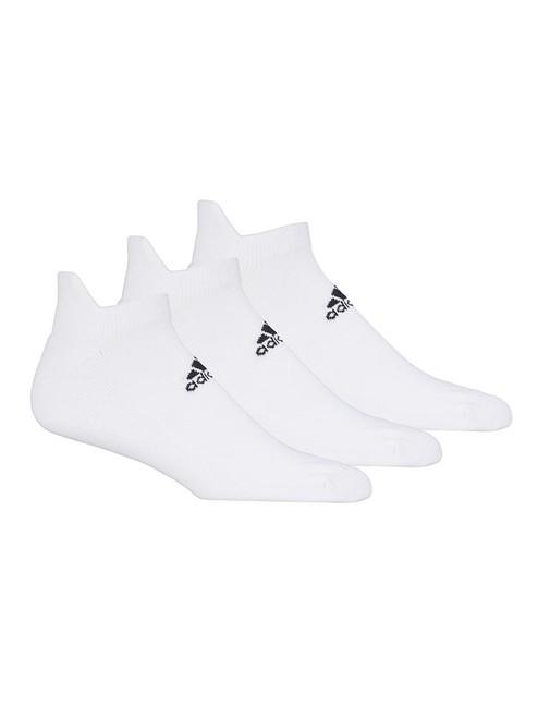 adidas Ankle Socks 3 Pairs - White