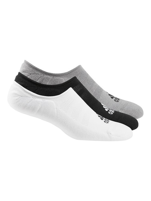 adidas Low-Cut Socks 3 Pairs - White/Grey/Black