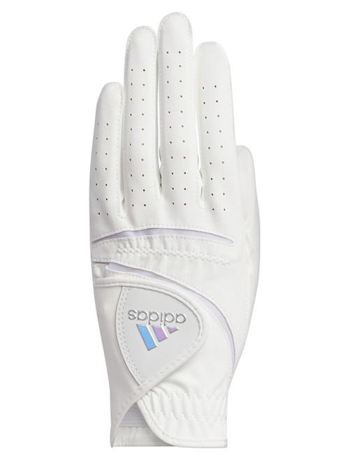 Adidas L&C Ladies Golf Glove Pair White