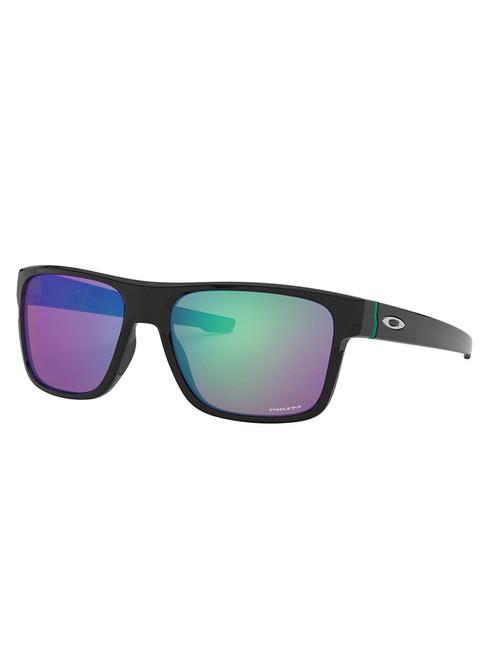 Oakley Crossrange (Asia Fit) Sunglasses - Polished Black w/ Prizm Golf