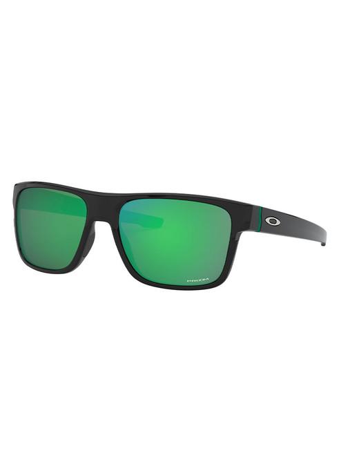 Oakley Crossrange (Asia Fit) Sunglasses - Matte Black w/ Prizm Jade
