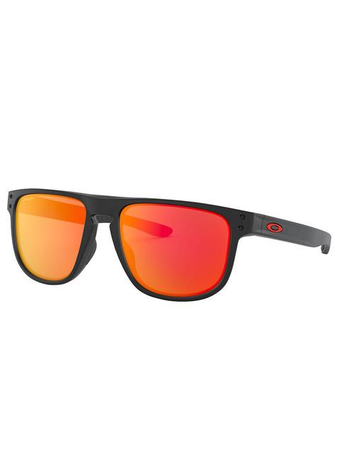 Oakley Holbrook R (Asia Fit) Sunglasses - Matte Black w/ Prizm Ruby