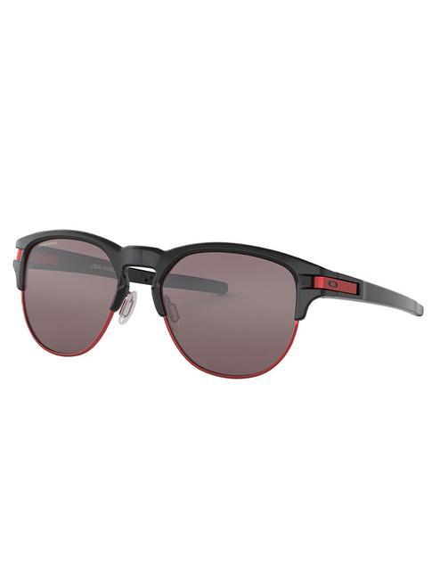 Oakley Latch Key Sunglasses - Polished Black w/ Prizm Black