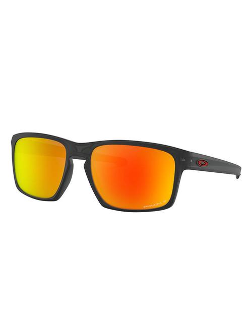 Oakley Sliver (Asia Fit) Polarised Sunglasses - Matte Black Ink w/ Prizm Ruby