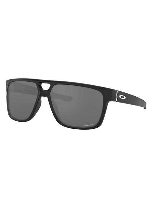 Oakley Crossrange Patch (Asia Fit) Sunglasses - Matte Black w/ Prizm Black