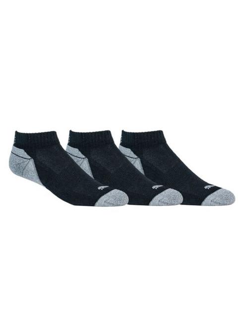 Puma Pounce Low Cut 3 Pair Pack Socks - Black