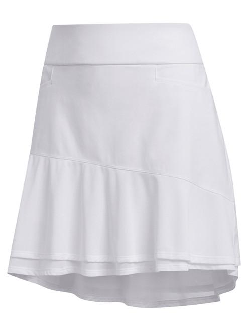 Adidas W Ultimate365 Knit Frill Skort - White