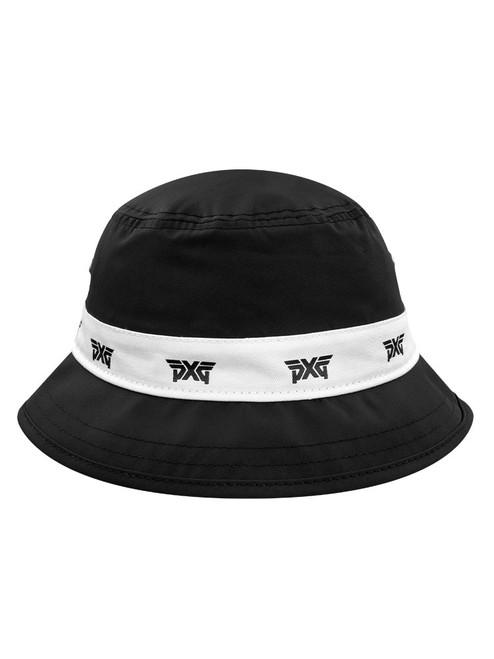 PXG Repeat Logo Bucket Hat - Black