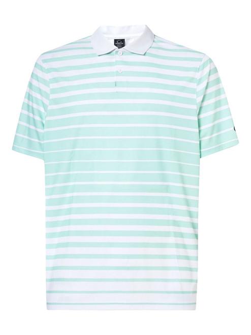 Oakley Tonal Stripes Polo - Bay Green