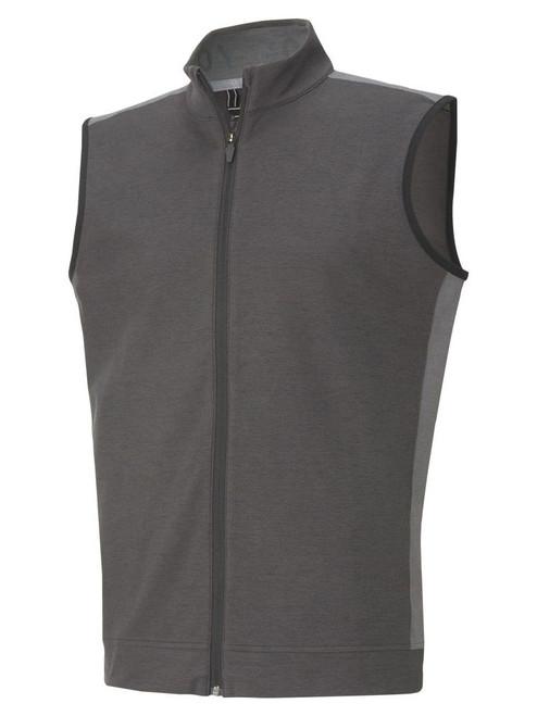 Puma CLOUDSPUN T7 Vest -  Puma Black Heather/Quiet Shade