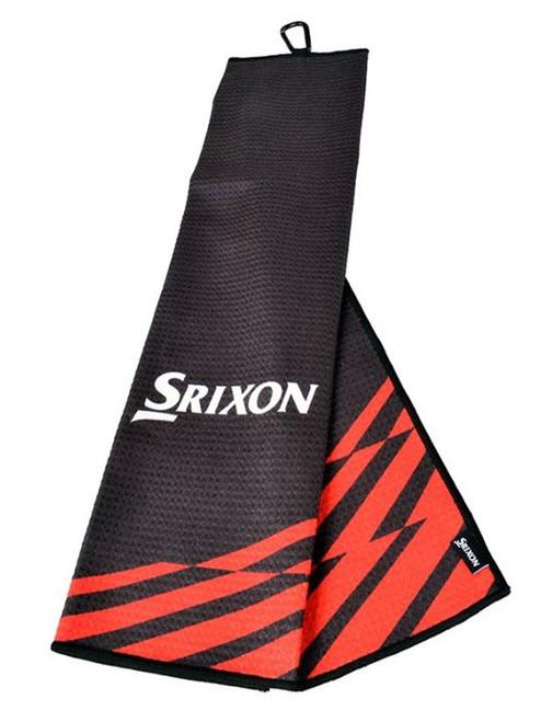 Srixon Tri-Fold 21 Towel - Black