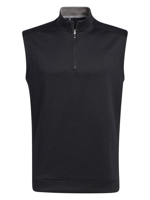 adidas Club Quarter-Zip Vest - Black