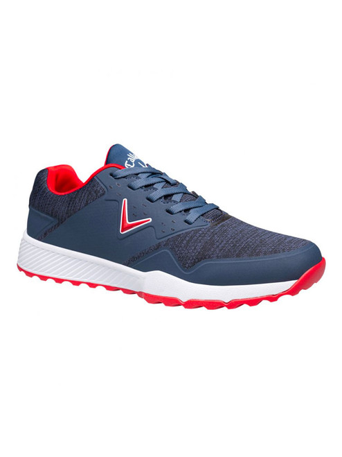 Callaway Chev Ace Aero Golf Shoes - Navy/White/Red