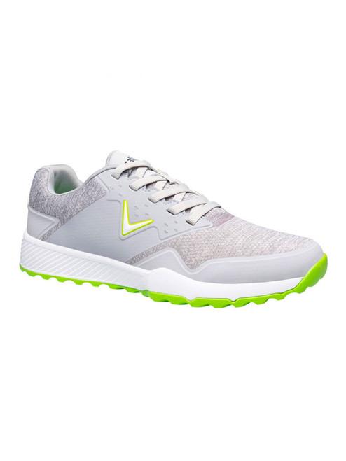 Callaway Chev Ace Aero Golf Shoes - Grey/Lime/Heather