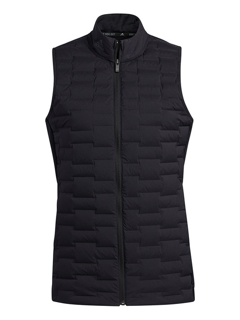 adidas Women's Frostguard Full Zip Vest - Black
