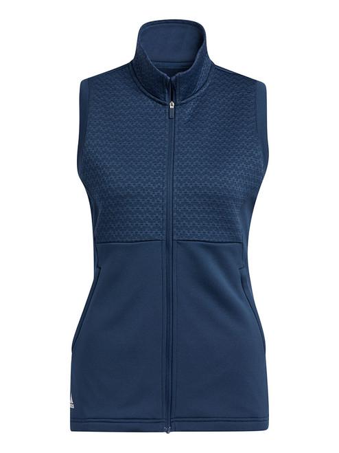 adidas Women's Primegreen COLD.RDY Full Zip Vest - Crew Navy