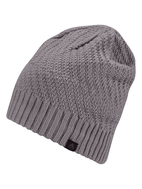 adidas Women's Golf Slouch Beanie - Taupe Oxide