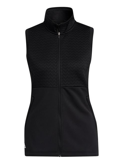 adidas Women's Primegreen COLD.RDY Full Zip Vest - Black