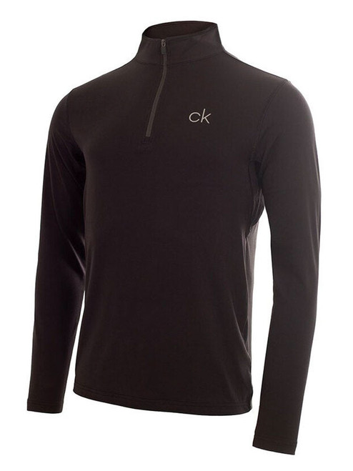 Calvin Klein Newport Half Zip - Black