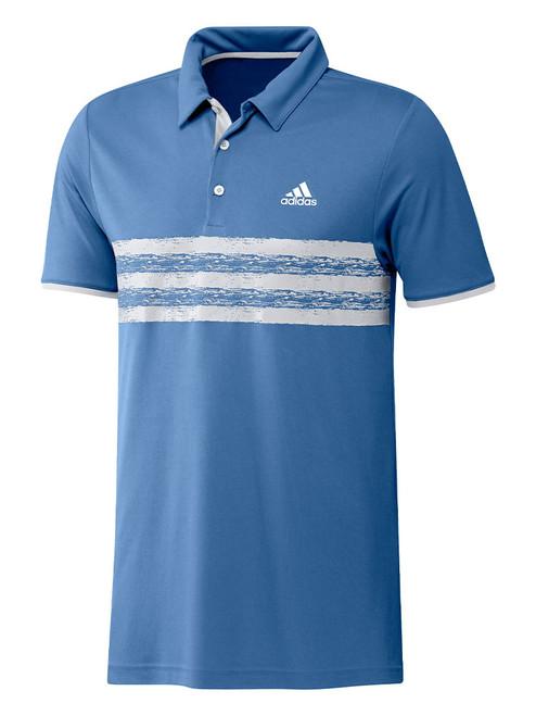 adidas Core Polo Shirt - Focus Blue/White