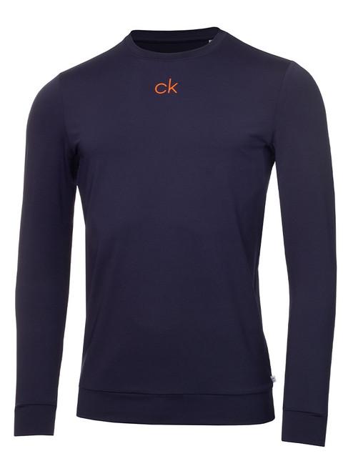 Calvin Klein Chest Print Base Layer - Navy