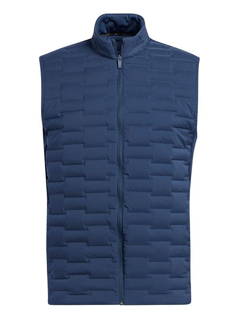 adidas Frost Guard Full Zip Padded Vest - Crew Navy
