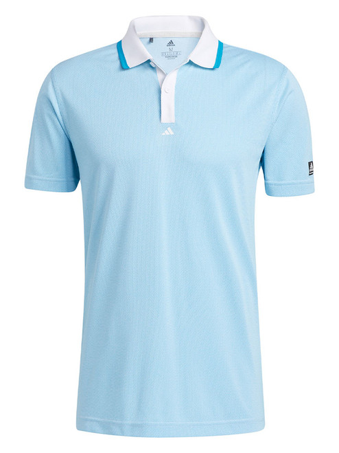 adidas Equipment Primegreen Polo Shirt - Sonic Aqua