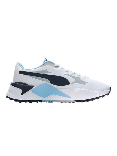 Puma RS-G Golf Shoes - Puma White/Navy Blazer/Placid Blue