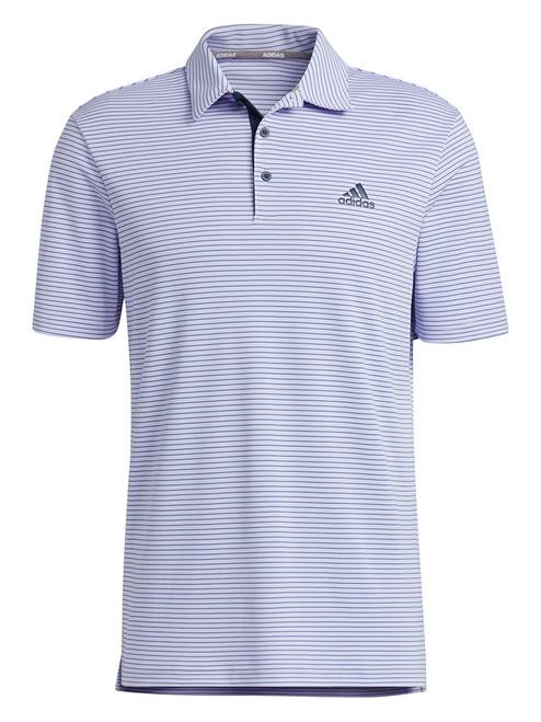 adidas 2-Colour Club Polo Shirt - Violet Tone/Crew Navy