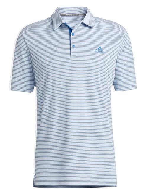 adidas 2-Colour Club Polo Shirt - Halo Blue/Focus Blue