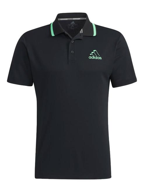 adidas Iron Logo Polo - Black