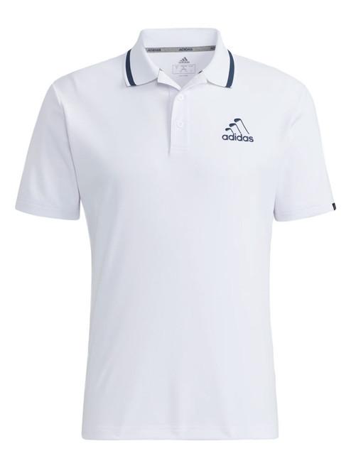 adidas Iron Logo Polo - White