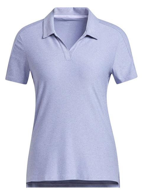 adidas W Go-To Primegreen Short Sleeve Polo Shirt - Crew Navy/Ambient Sky