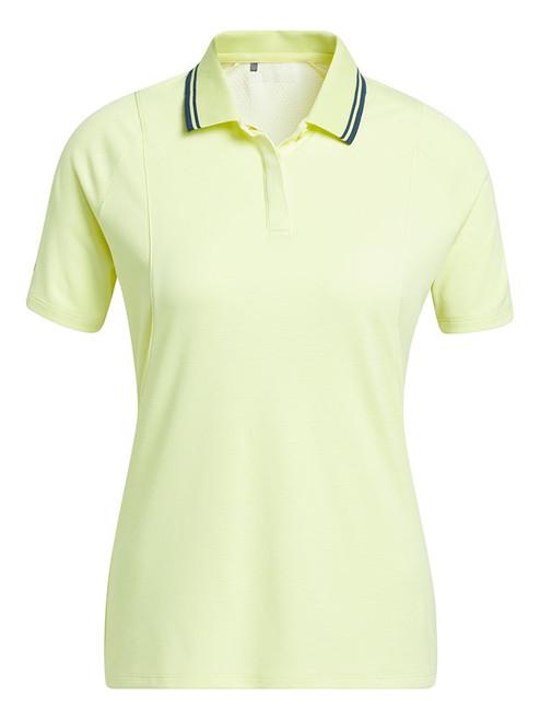 adidas W Sport Performance Primegreen HEAT.RDY Polo - Pulse Yellow