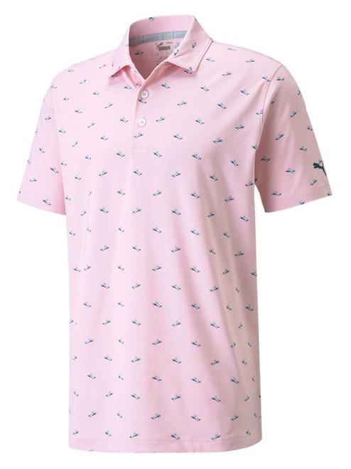 Puma MATTR Paradise Polo - Parfait Pink