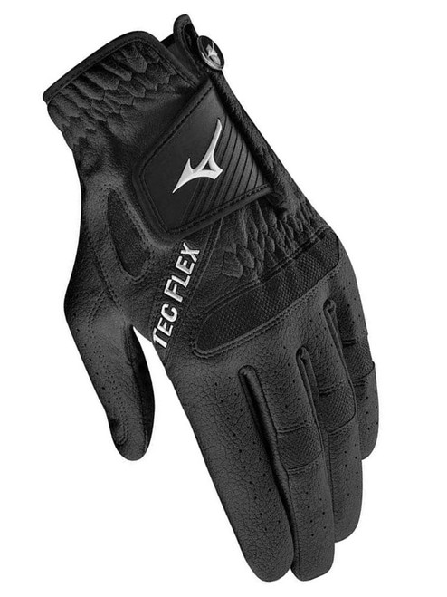 Mizuno TecFlex Golf Glove - Black