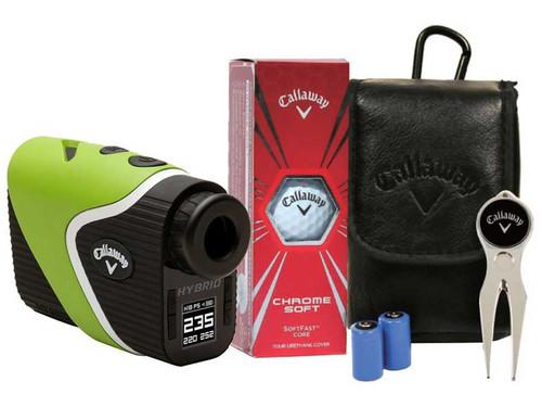 Callaway Hybrid Laser-GPS Rangefinder + Bonus Pack - Green
