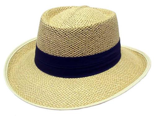Avenel Openweave Downunder Panama Hat - Natural