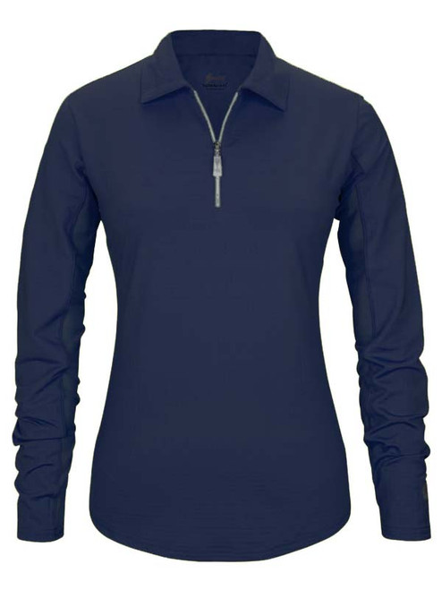 Bette & Court Ladies Cool Elements Swing Polo - Pacific Blue