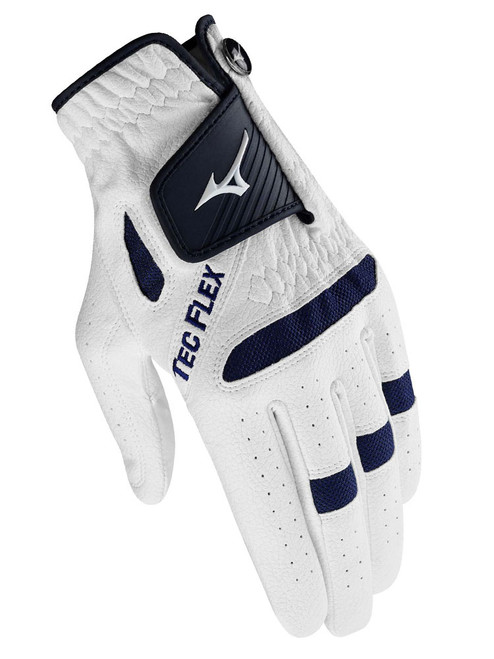 Mizuno TecFlex Ladies Golf Glove -  White