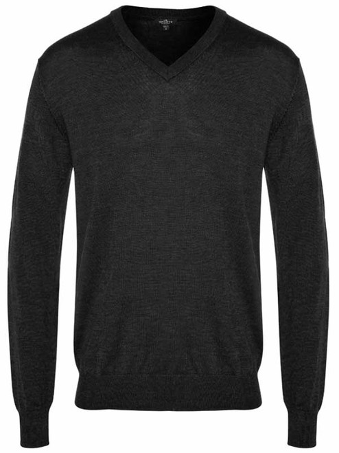 Sporte Leisure True Knit V-Neck Club Jumper - Black