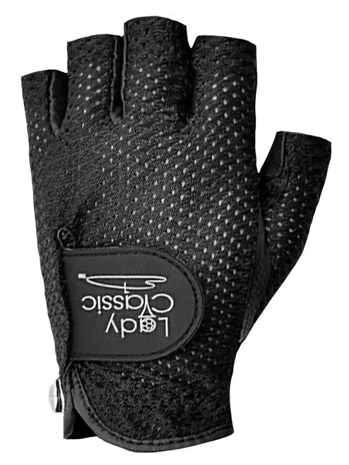 Lady Classic Ladies Half Glove - Black