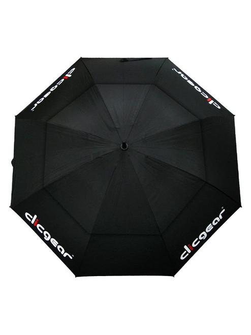 Clicgear Double Canopy 68 Inch Umbrella Black