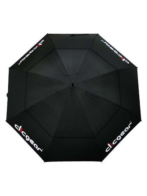 Clicgear Double Canopy 68 Inch Umbrella Black