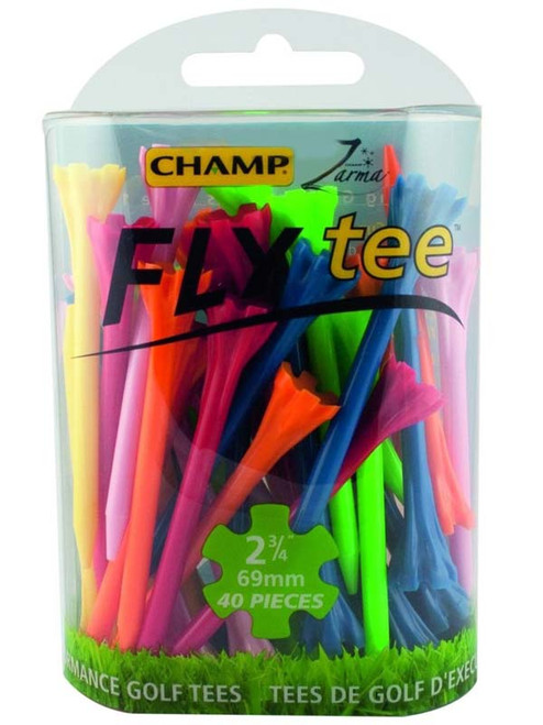 CHAMP Fly Tees 30 Pack 2.75 Inch Mixed