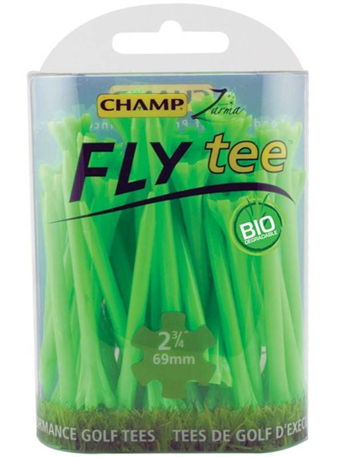 CHAMP Fly Tees 30 Pack 2.75 Inch Green