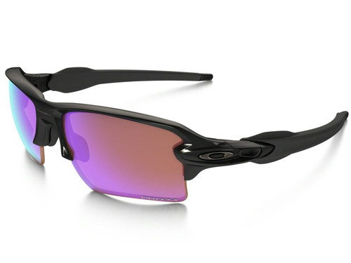 Oakley Flak 2.0 XL Sunglasses - Polished Black w/ PRIZM Golf