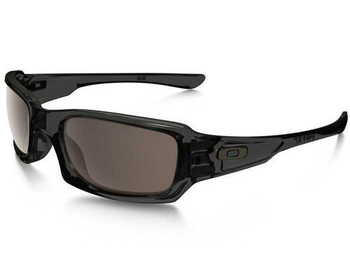 Oakley Fives Squared Sunglasses - Grey Smoke w/ Warm Grey